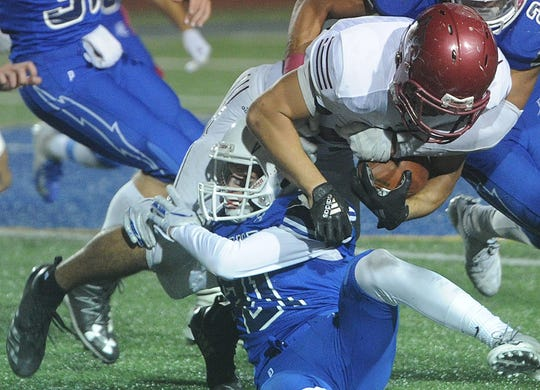 Tim Luna and Santa Paula will try to run over Pasadena in a Division 11 first-round game Friday night.