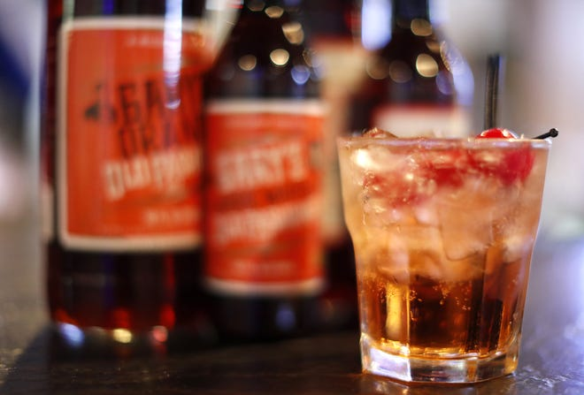 An old fashioned using Gary's Old Fashioned Mix Thursday, Oct. 4, 2018, in Freedom, Wis. Danny Damiani/USA TODAY NETWORK-Wisconsin
