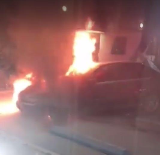 Nanuet Car Fire
