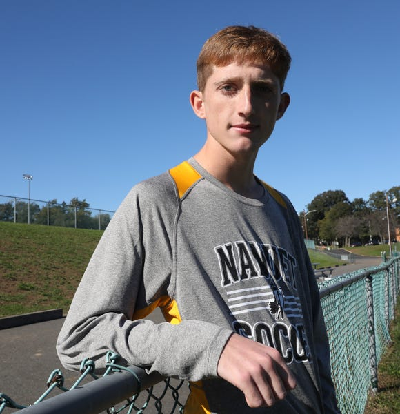 Nanuet soccer player Sean Ryan who was photographed at the high school on Oct. 19, 2018, is theRockland Scholar/Athlete of the week.