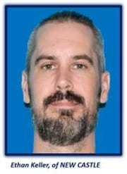 Ethan Keller of New Castle shot himself in the leg Friday evening in Hedgeville, Wilmington police said.