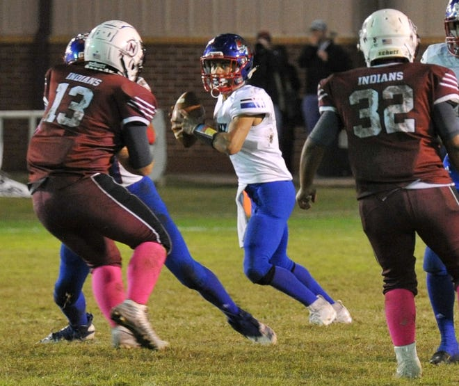 Knox City quarterback Abraham Nevarez is looking to finish up his high school career on a high note.