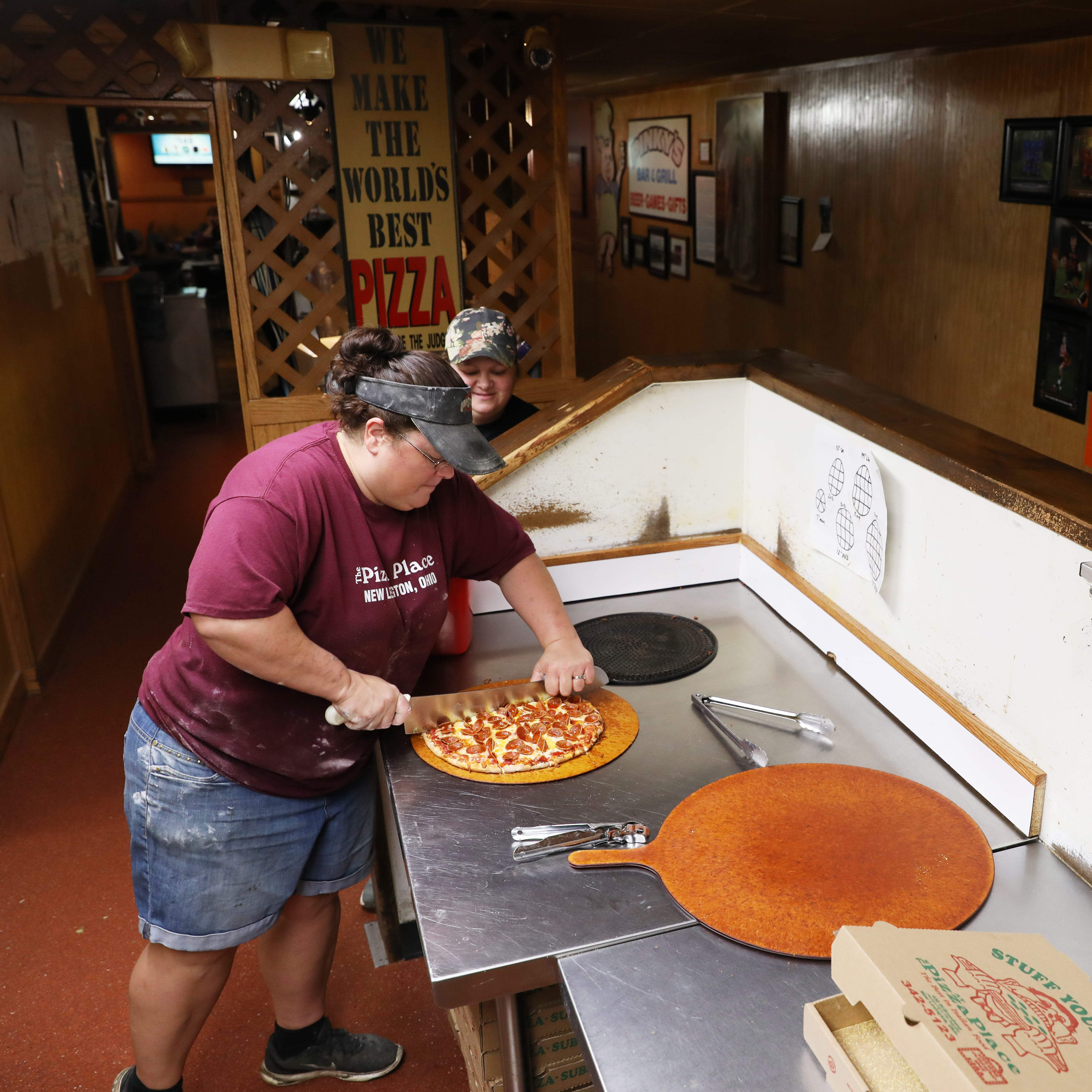 After 35 years, The Pizza Place still stuffing faces
