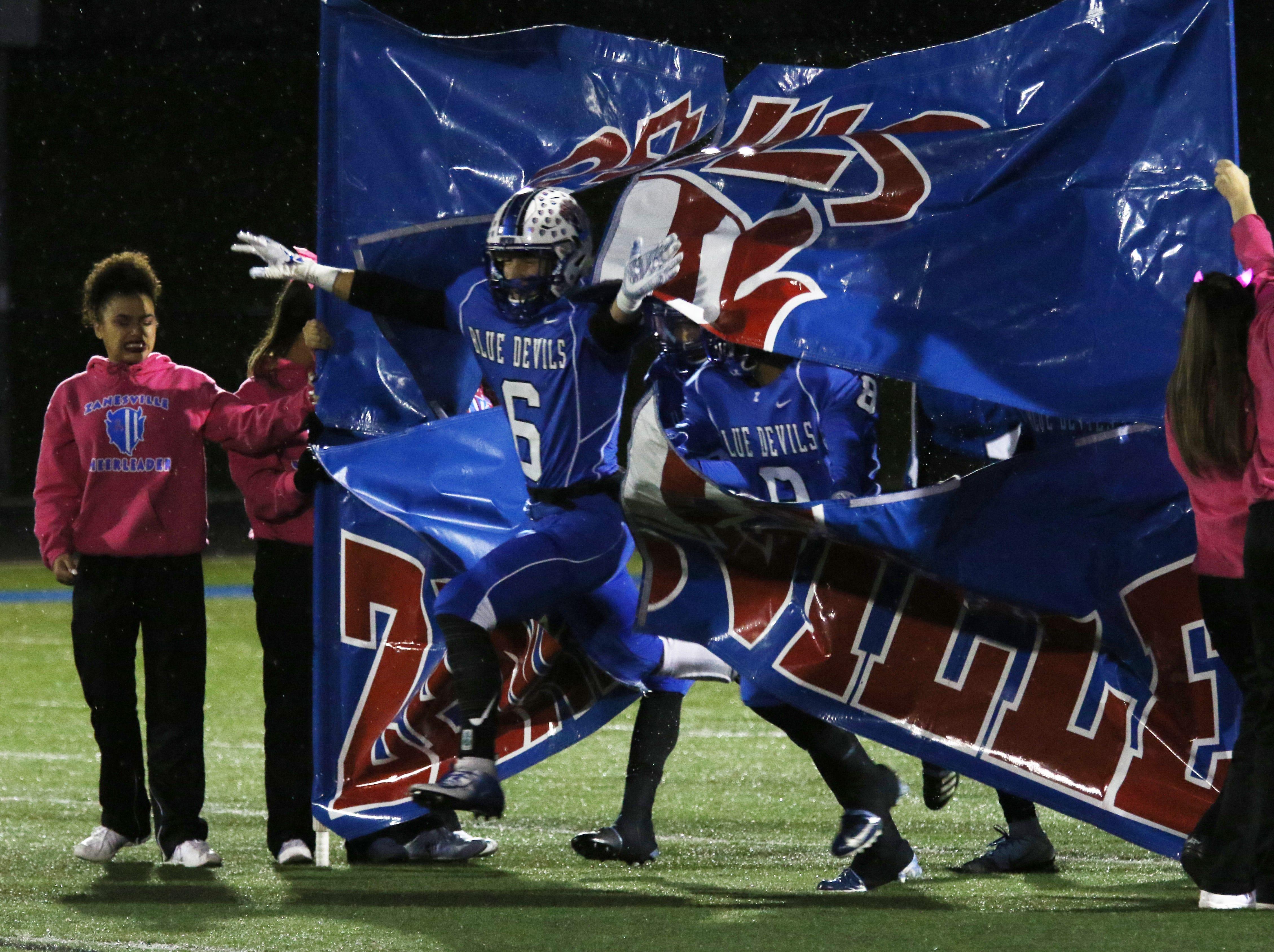 Zanesville takes the field against New Philadelphia.