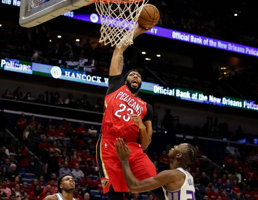 Nba Sacramento Kings At New Orleans Pelicans