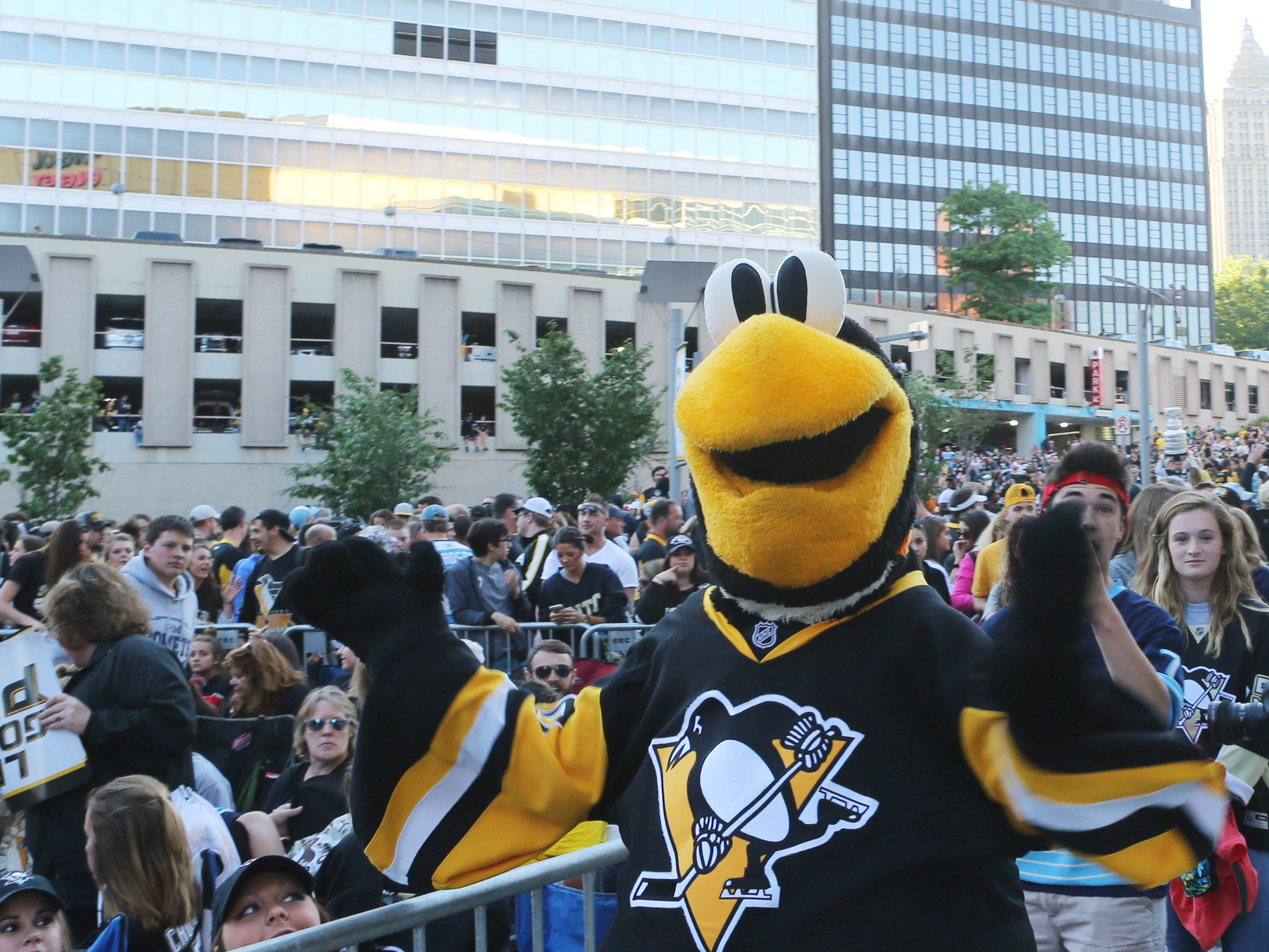 5. Iceburgh, Pittsburgh Penguins.