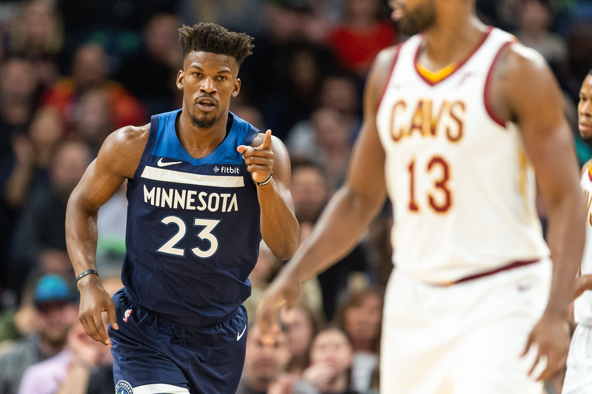 Timberwolves home opener: Disgruntled Jimmy Butler gets hearty boos and MVP chant