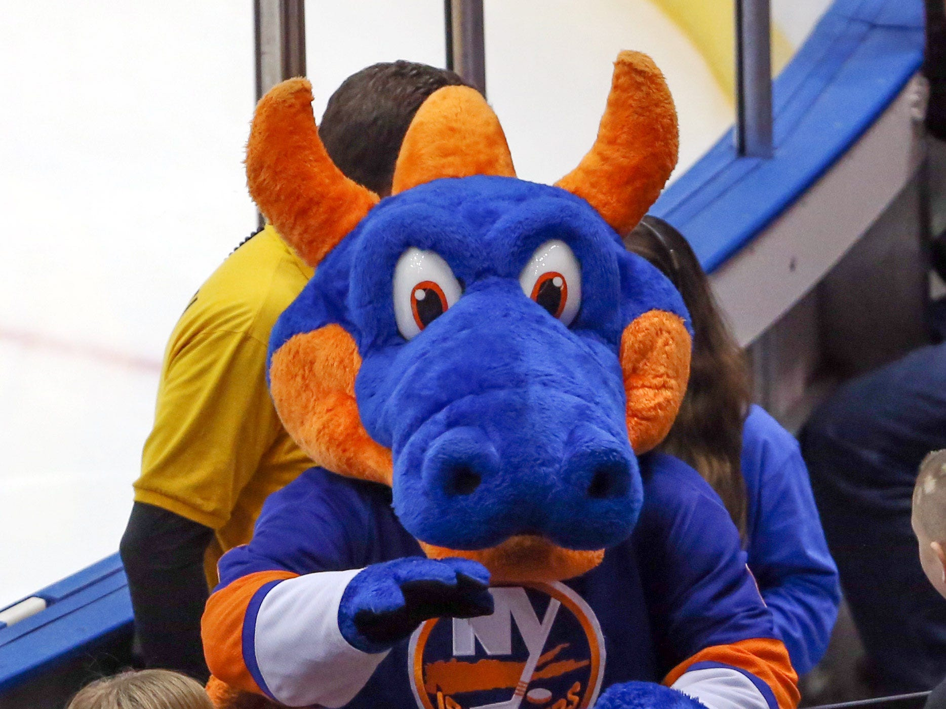 27. Sparky the Dragon, New York Islanders.