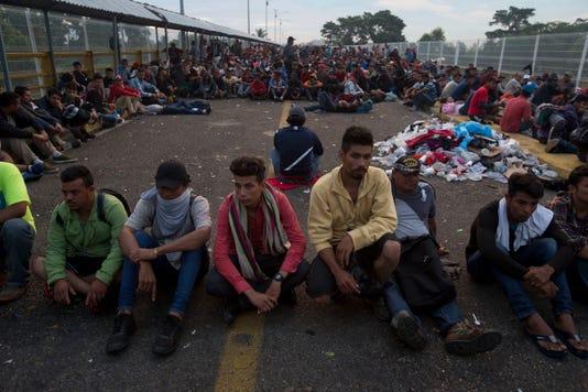 Ap Central America Migrant Caravan I Gtm