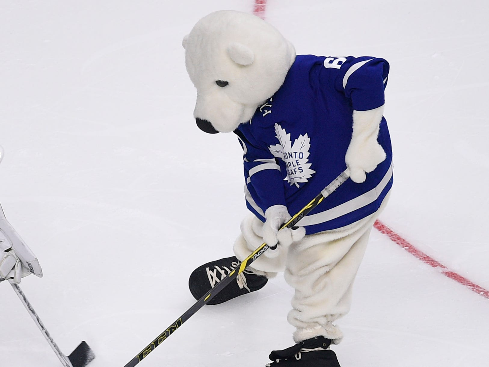 21. Carlton the Bear, Toronto Maple Leafs.