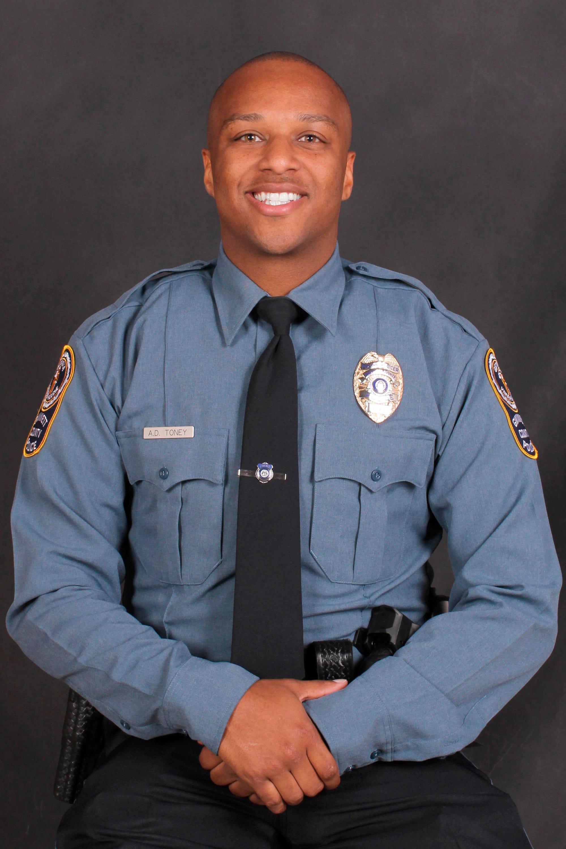 A Georgia police officer was fatally shot near a middle school in Gwinnett County