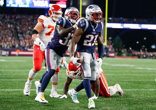 Patriots defensive back Duron Harmon.