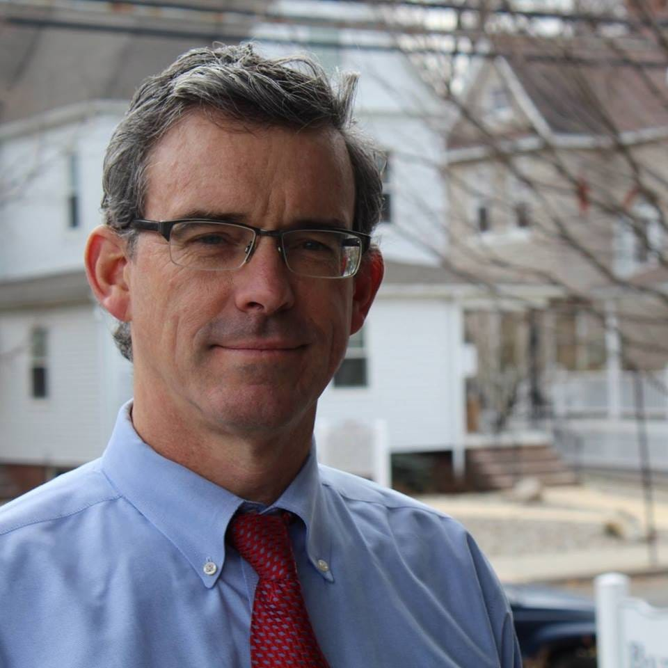 Sean Byrnes, a candidate for Middletown Township Committee.