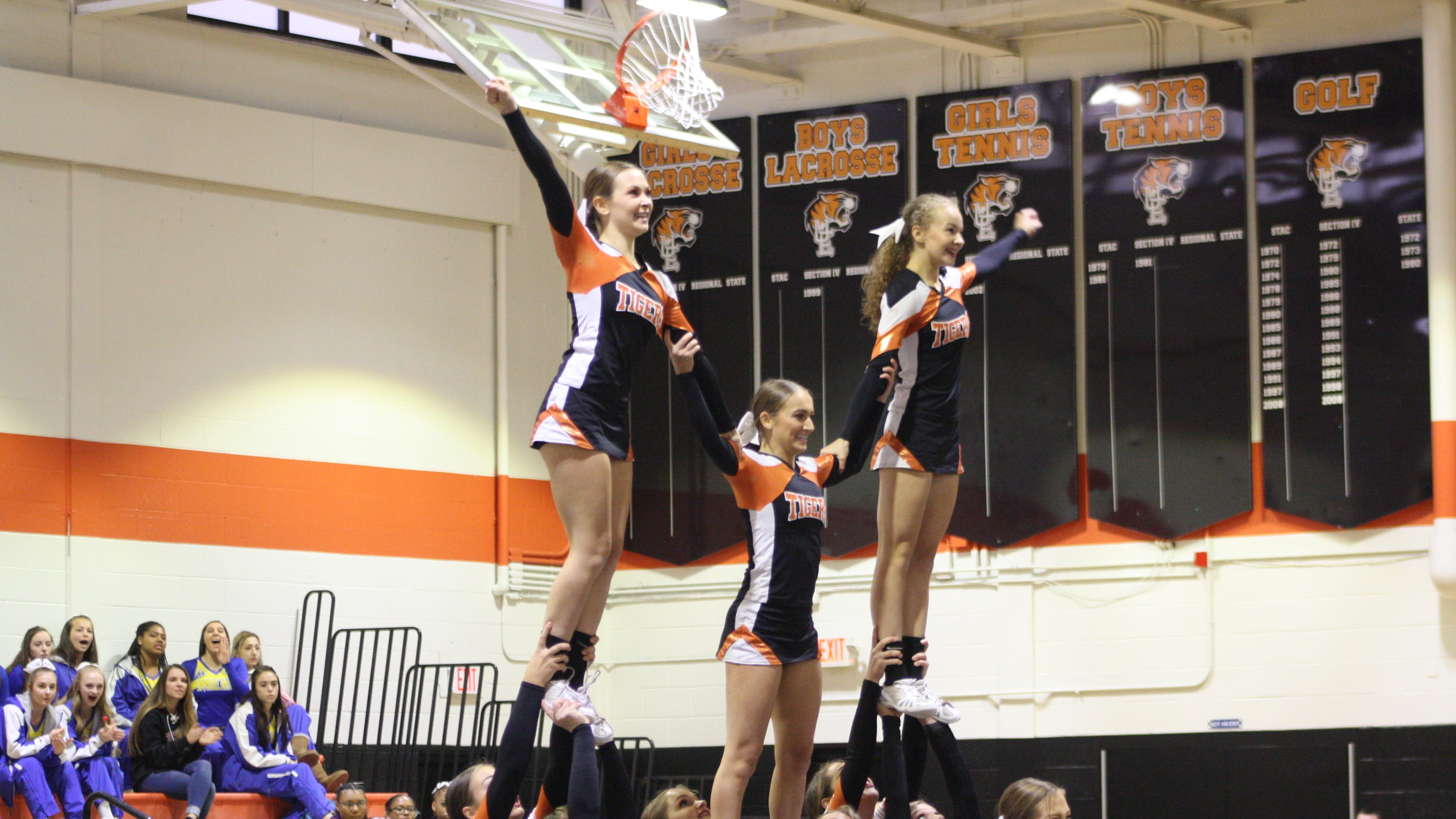 The Fall 2018 STAC Cheerleading Championship was held at Union-Endicott High School Sunday. Union-Endicott took home first place for Division 1 Varsity Cheerleading.