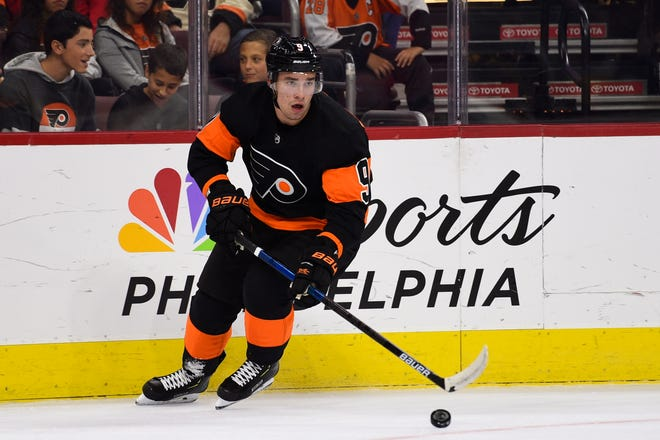 Flyers defenseman Ivan Provorov has had some uncharacteristic turnovers, including two on Saturday, but his game took a step in the right direction with a pair of assists.