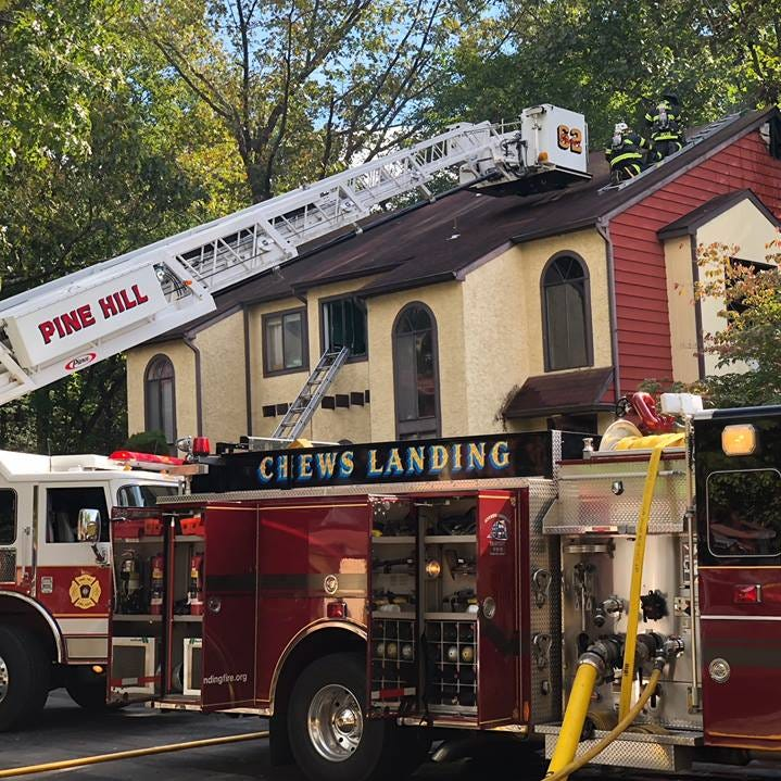 House fires displace residents in Gloucester Township, Cherry Hill