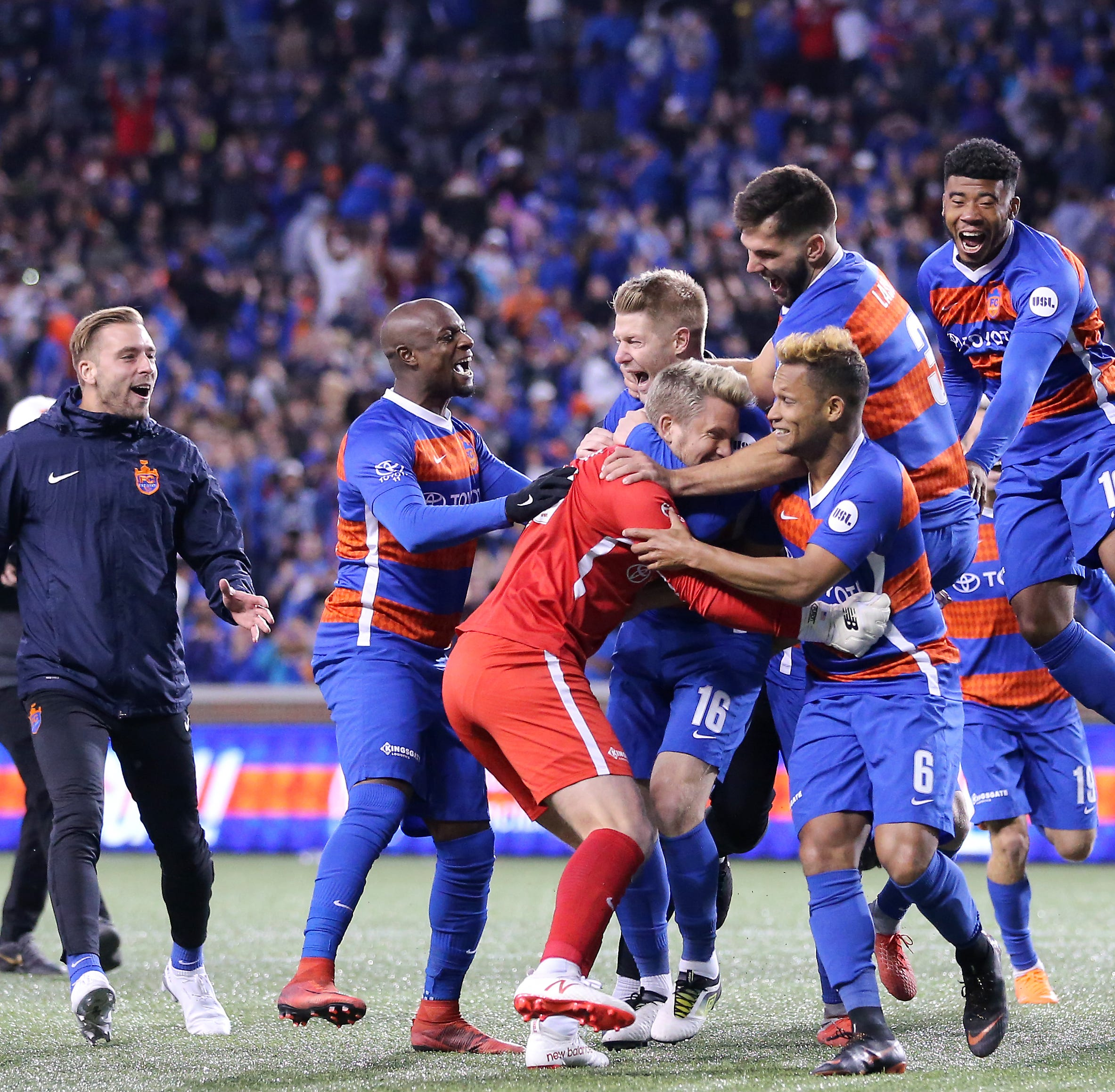 FC Cincinnati's penalty shootout could've gone so wrong. Instead, it and Walker went right