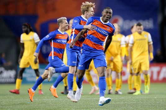 Fc Cincinnati Nashville Sc Playoff Game Oct 20