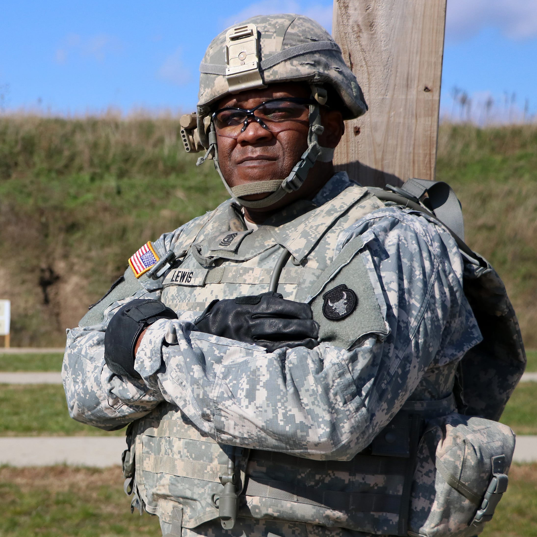 Iowa National Guardsman makes history as the first African-American to become sergeant major
