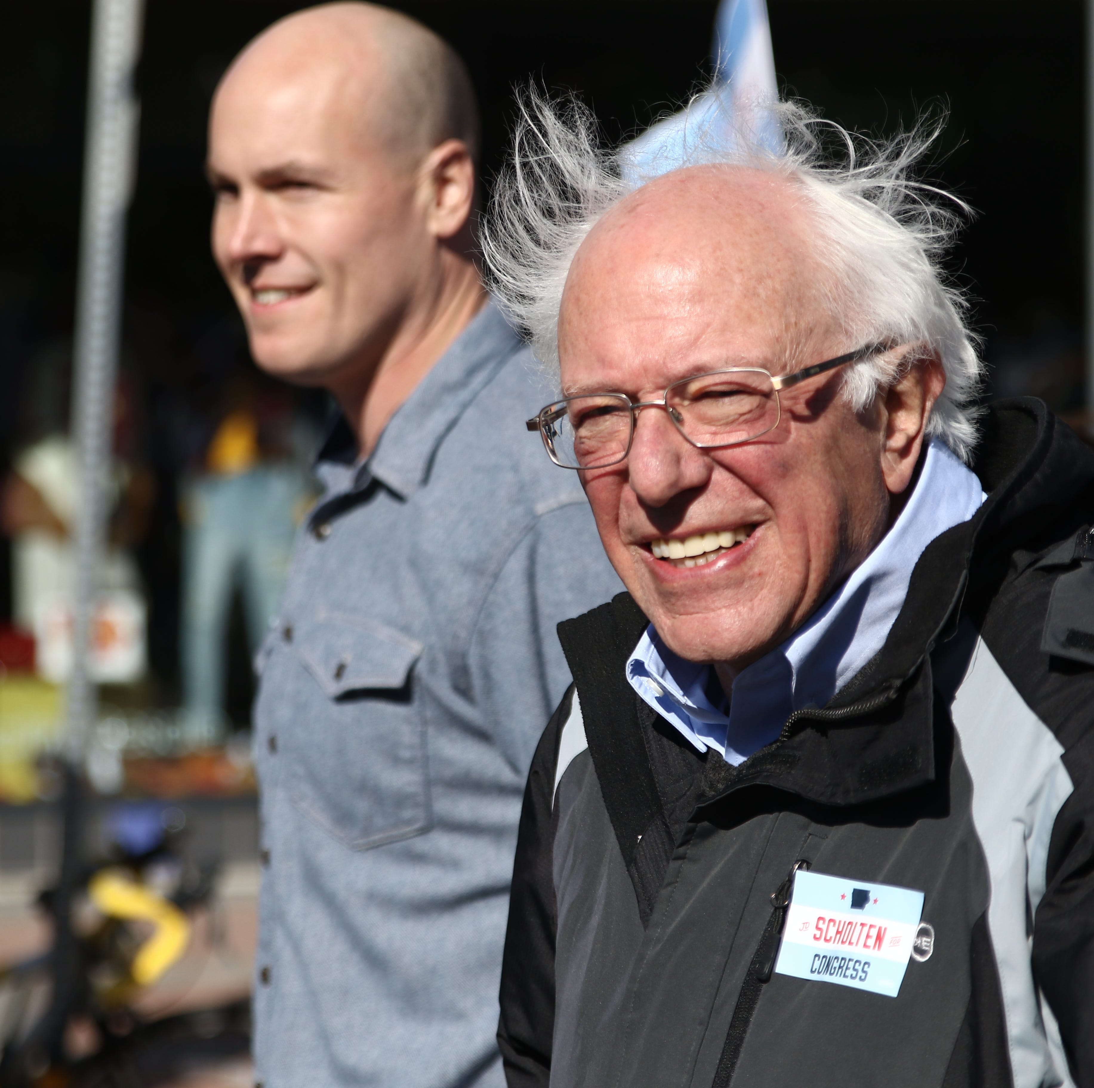 Bernie Sanders rallies Iowa Democrats for J.D. Scholten in bid to oust U.S. Rep. Steve King