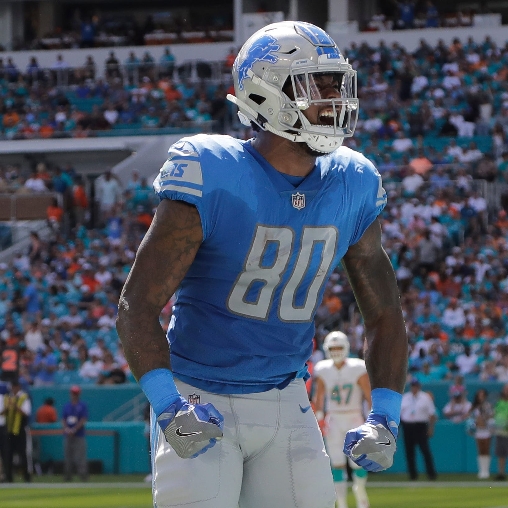 Detroit Lions exploit Dolphins, remember tight ends in the process