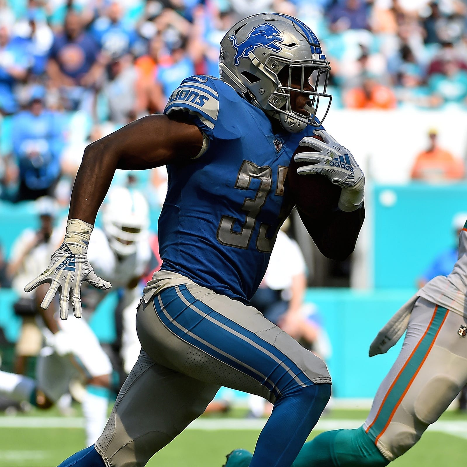 Detroit Lions film review: Kerryon Johnson long run perfectly blocked