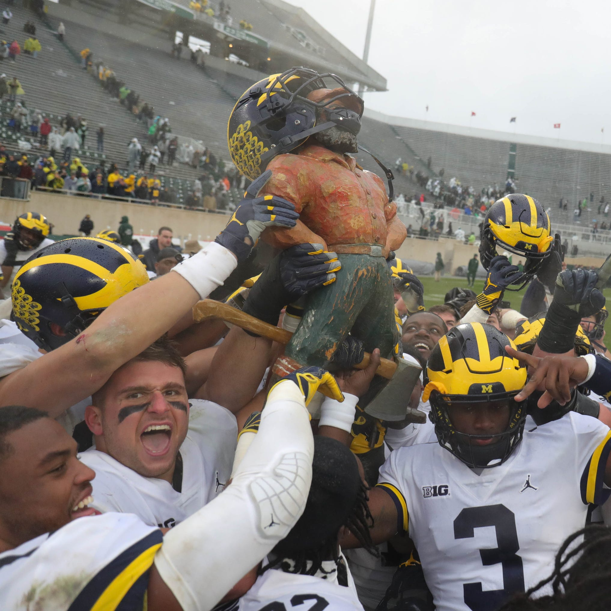 Mitch Albom: Michigan football beats down MSU in chippy, chirpy affair