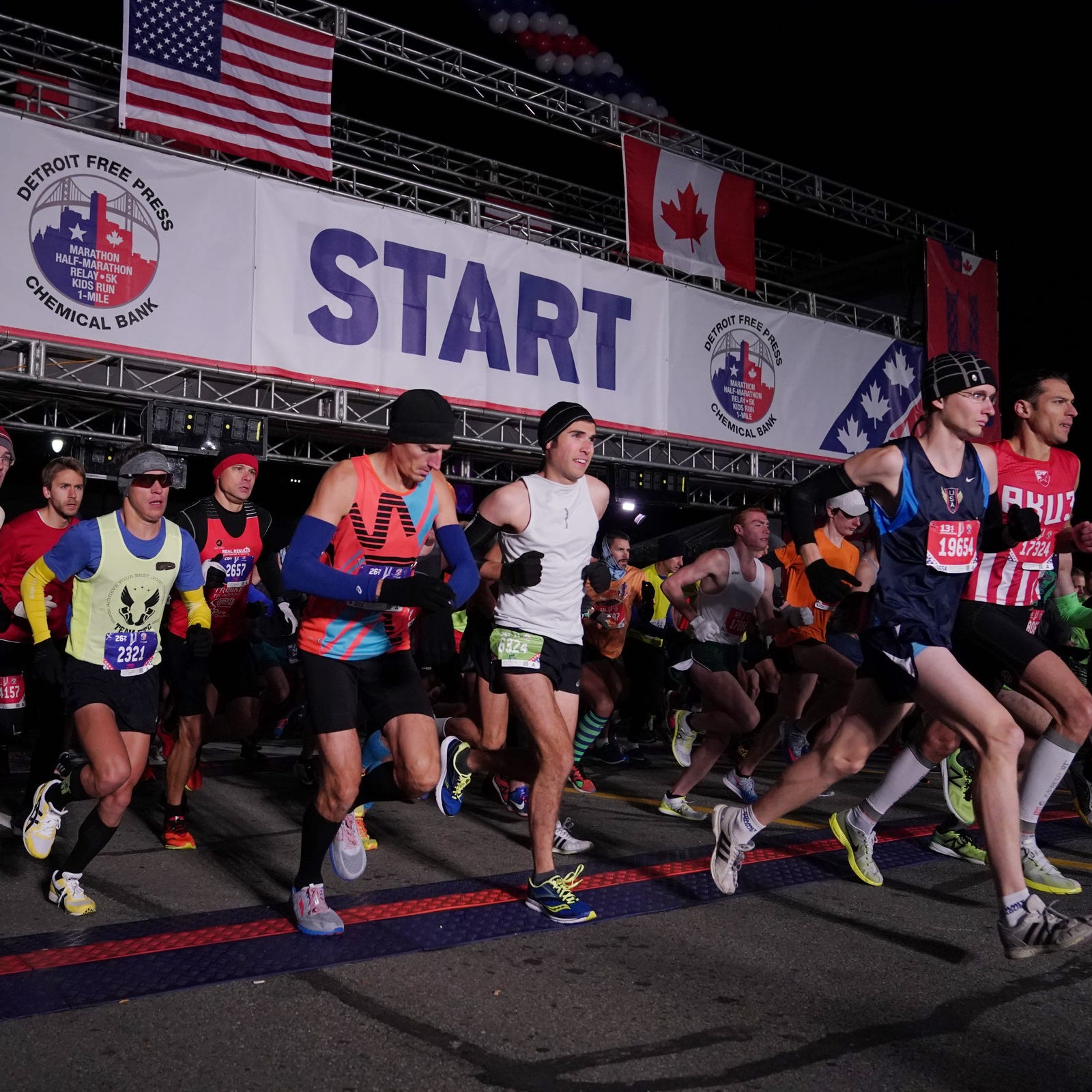 2018 Detroit marathon: Live updates from race day