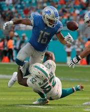 Golden Tate had 44 catches for 517 yards and 3 TDs in 7 games with the Lions in 2018.