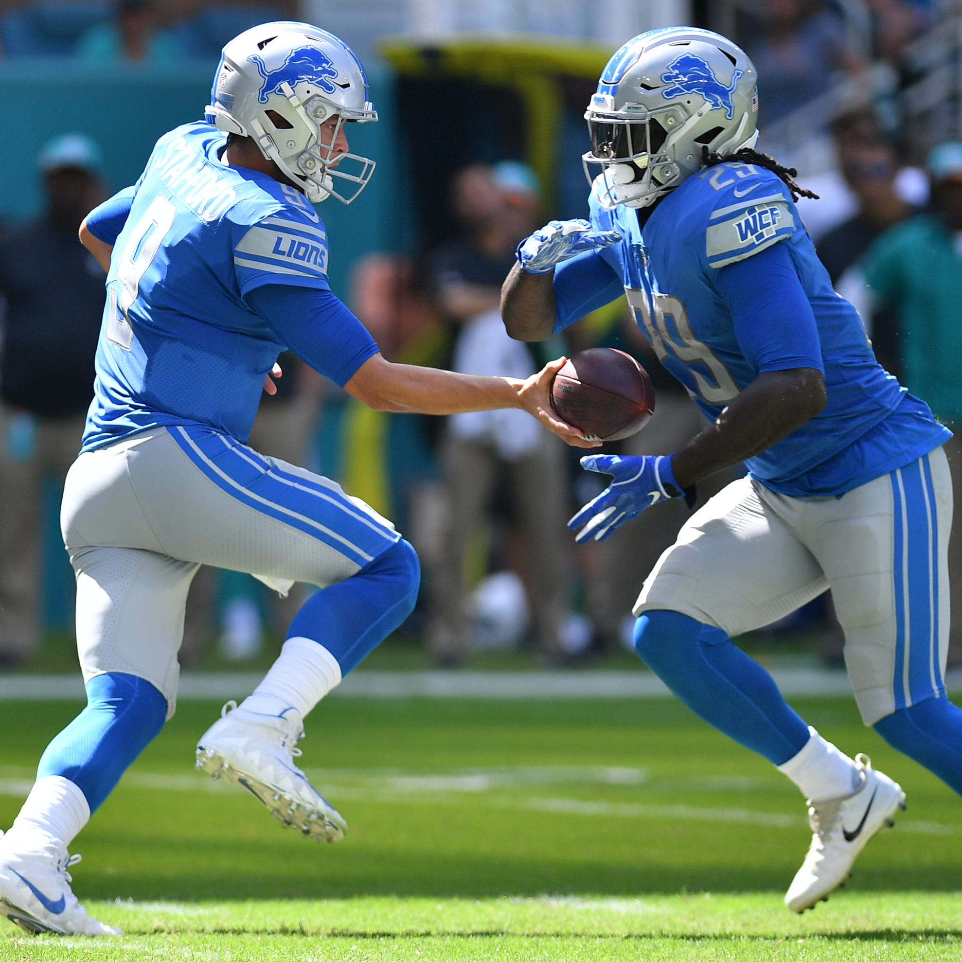 Detroit Lions grades: Best offensive performance of 2018 vs. Dolphins