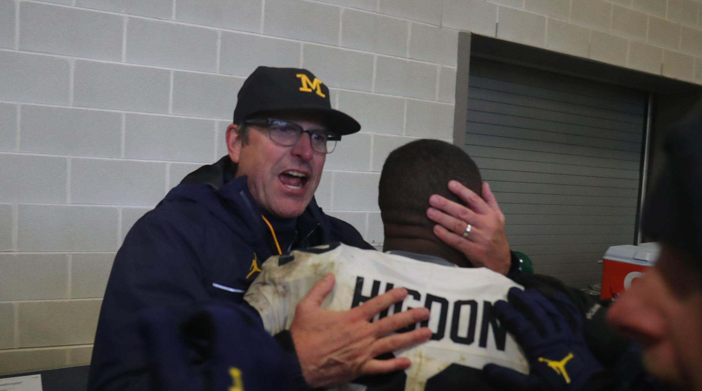 Michigan football, Jim Harbaugh find swagger, identity at Michigan State