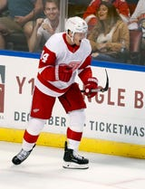 The Wings need Gustav Nyquist to shoot more, increase his trade value. Filmed Nov. 1, 2018 in Detroit.