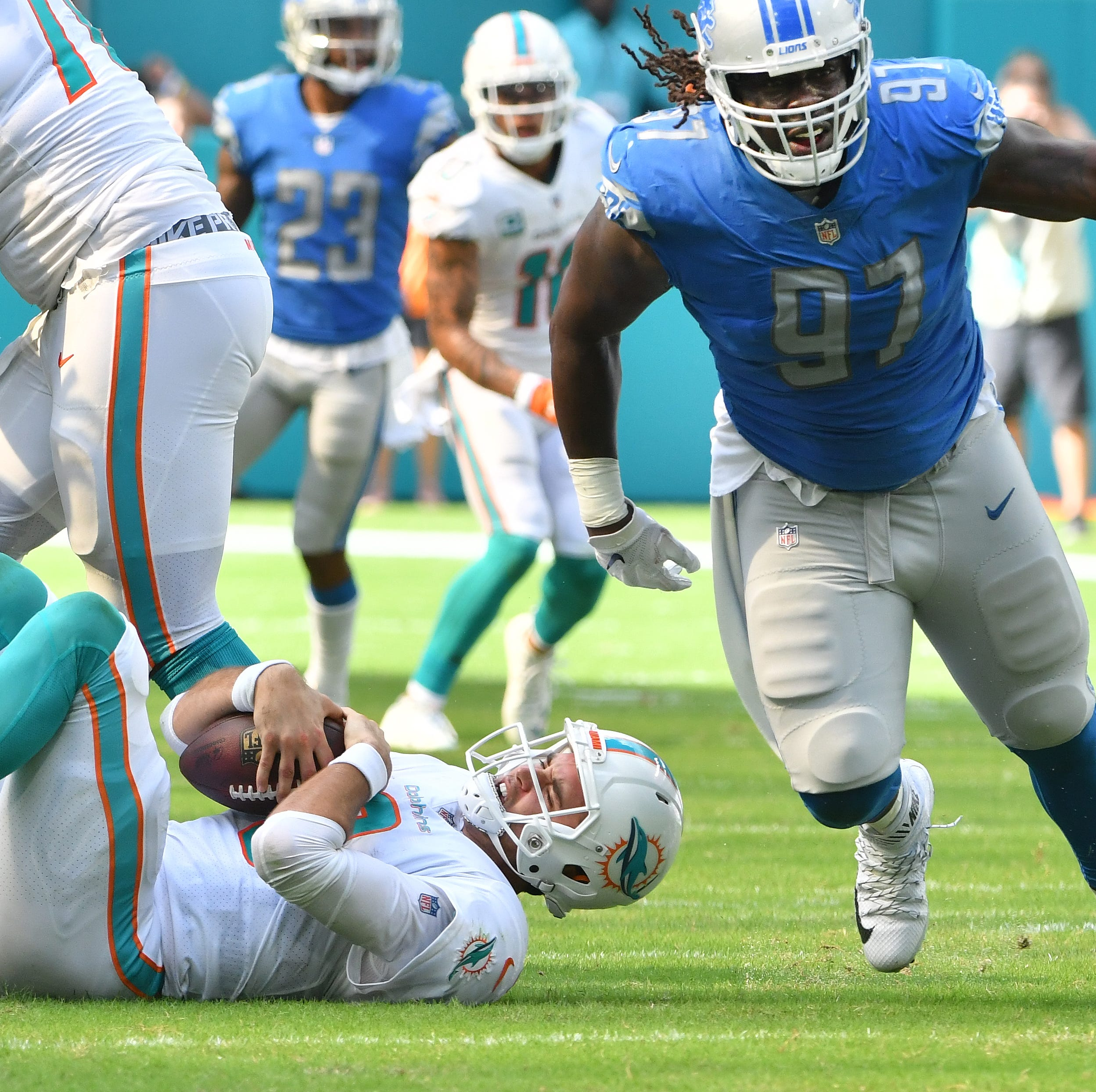 Justin Rogers' Lions grades: Almost all A's, B's in key road victory