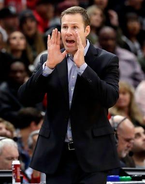 Fred Hoiberg is the new coach at Nebraska.