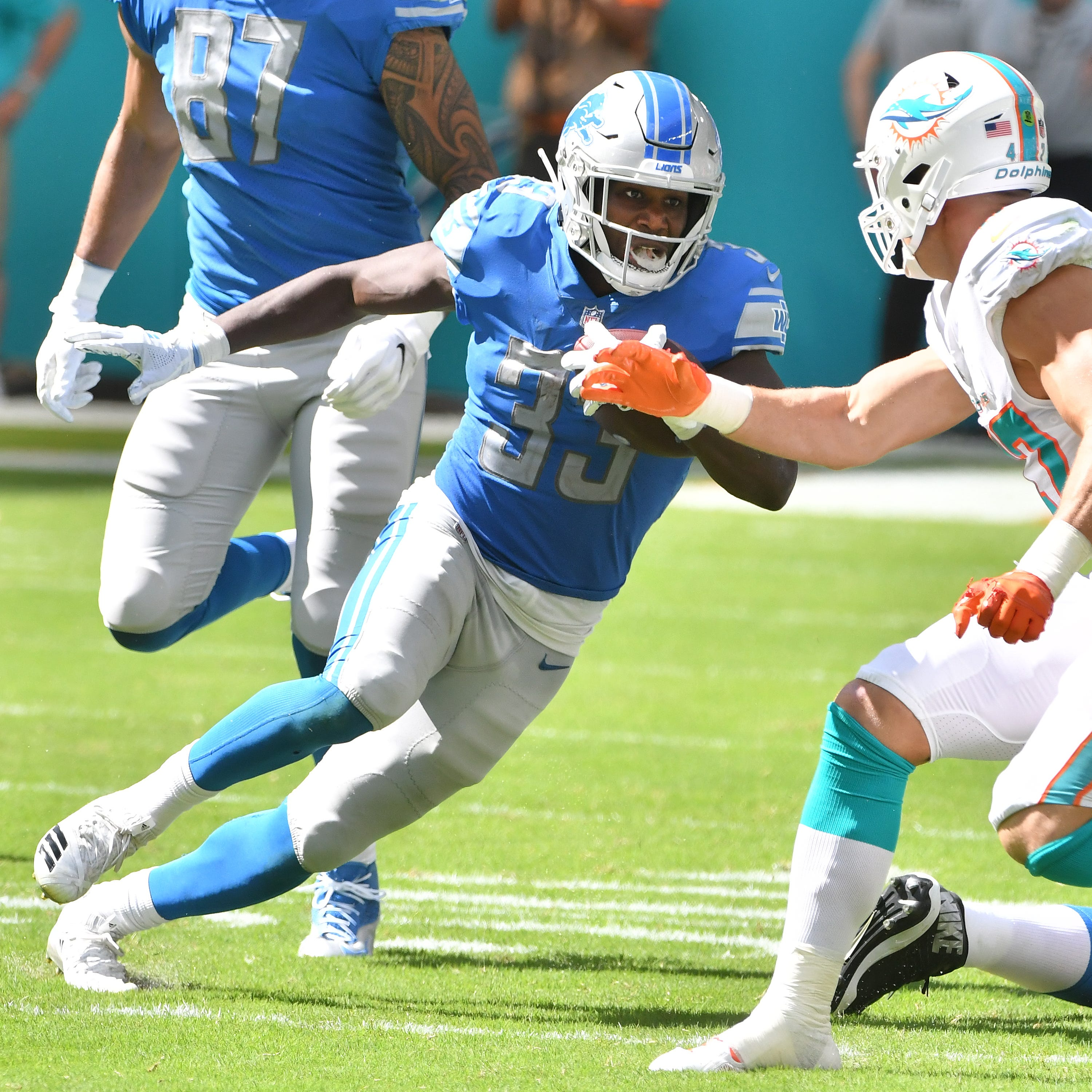 Niyo: Lions' run game turns 'small things' into huge gains