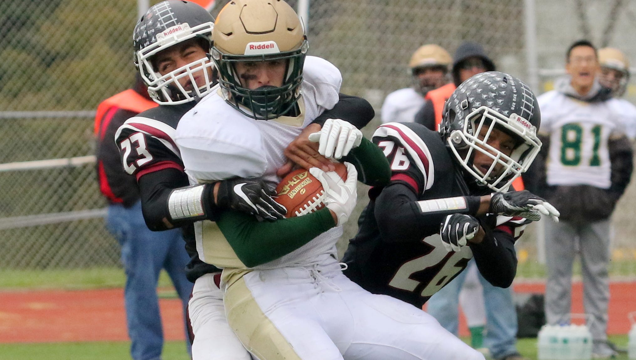 Vestal was a 30-28 winner over Elmira in football Oct. 20, 2018 at Ernie Davis Academy.