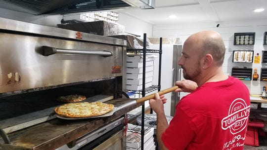 Tom VanVactor finally realized his 10-year dream of owning a pizza place this past August with Tomelly's in Newburgh.