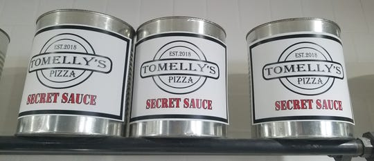 It's the sauce that makes it. Tomelly's starts with a commercial sauce then adds their own herbs and spices to give it just the right flavor and hint of sweetness.