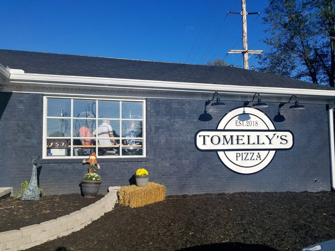 Tomelly's is located on State Street just north of Jennings in Newburgh, and the clean, modern aesthetic blends very well with the area.