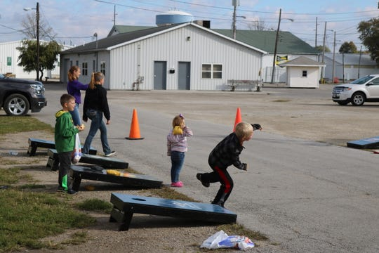 Cornhole, dodgeball, camping, crafts and more home to the Sandusky County Fairgrounds as part of the first Fall Family Festival on Saturday.