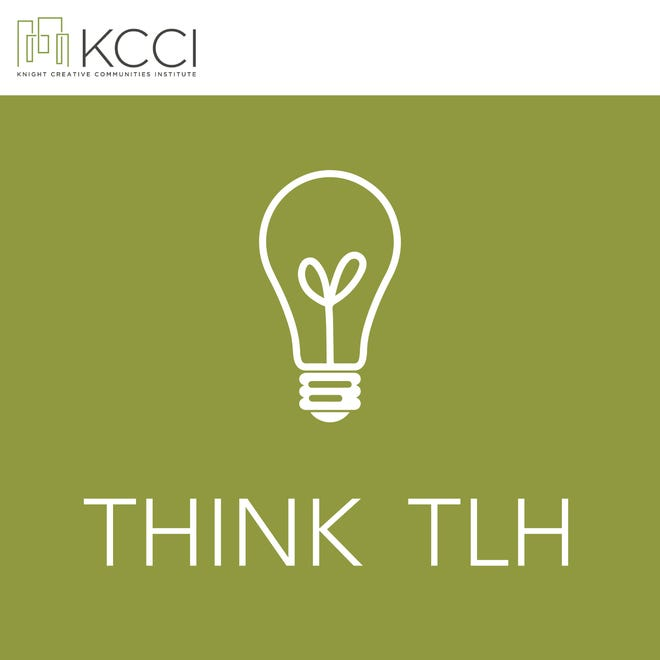 The Think TLH podcast logo was designed by FSU student Alison Leavitt.
