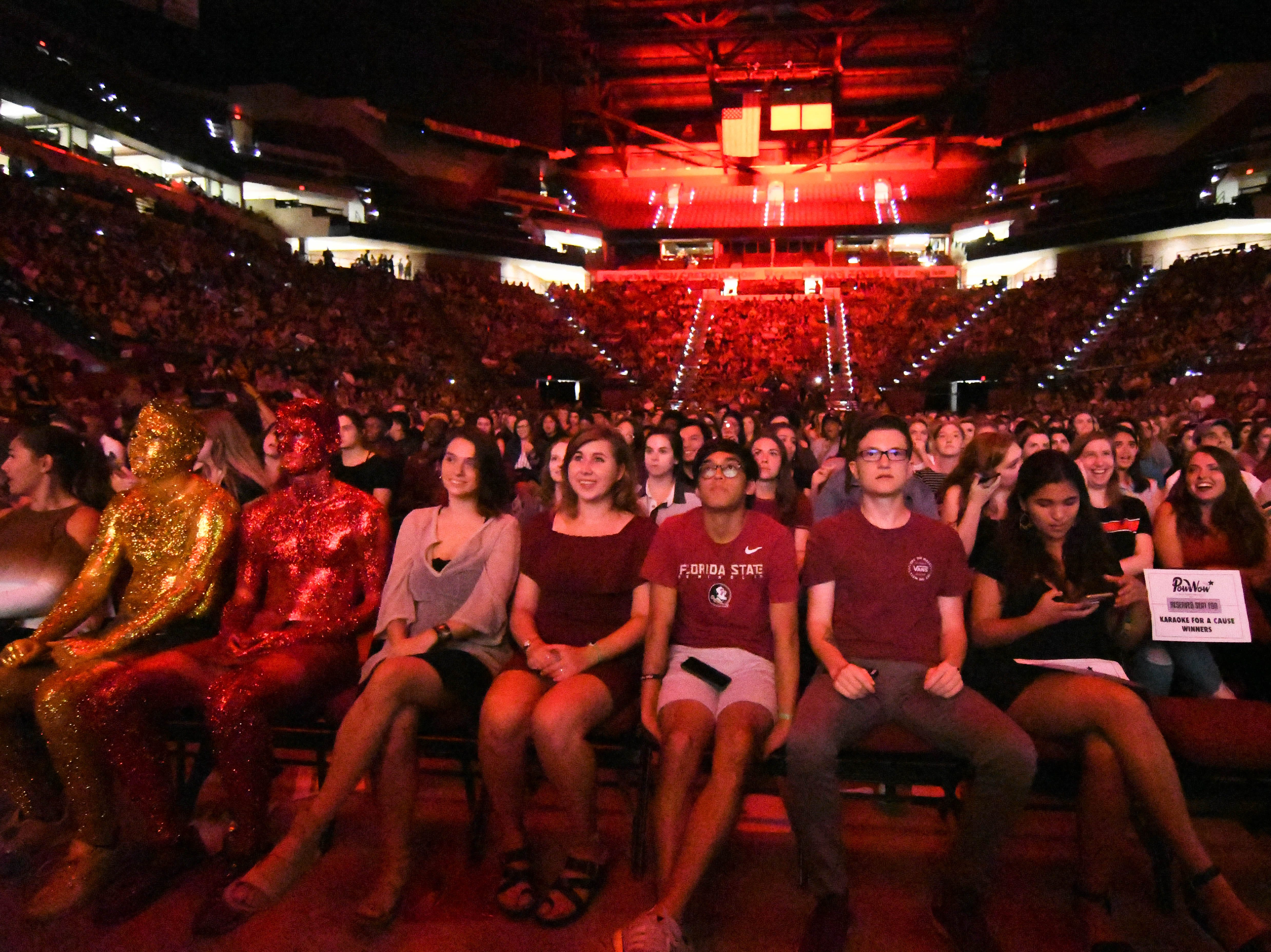 FSU students pack the Civic Center for Pow Wow in the Tucker Center on October 19, 2018.