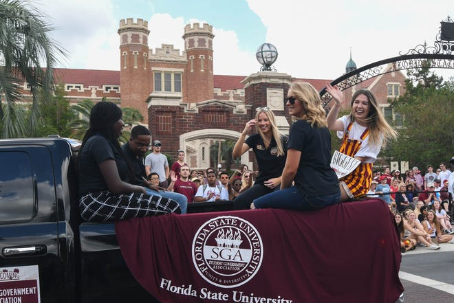 The FSU Homecoming Parade celebrated the University's registered student organizations on October 19, 2018.