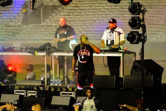 Big Boi of OutKast performs at Doak after Dark following the Seminoles' 38-17 victory over Wake Forest.
