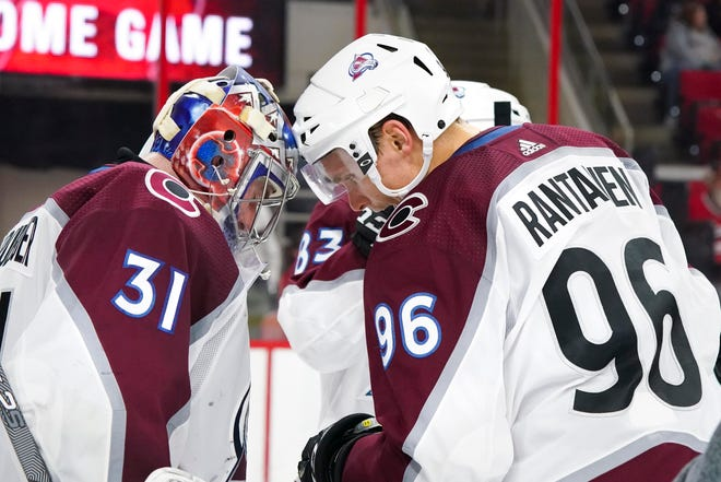 The Colorado Avalanche play at Edmonton  7:30 p.m. Sunday.