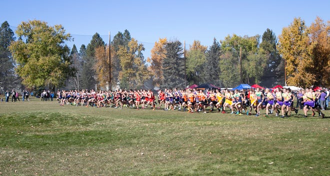 Hundreds of high school students from across Montana meet in Missoula for the MHSA State Cross Country Meet. Class C-AA attend the event that features over 100 teams.