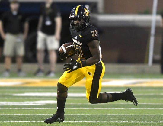 Southern Miss running back Trivenskey Mosley has proven a threat out of the backfield in his two games as the go-to tailback.