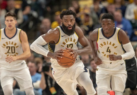 The Pacers' Tyreke Evans won't play in Saturday's game. He violated the team's internal rulebook, among other issues, coach Nate McMillan said.