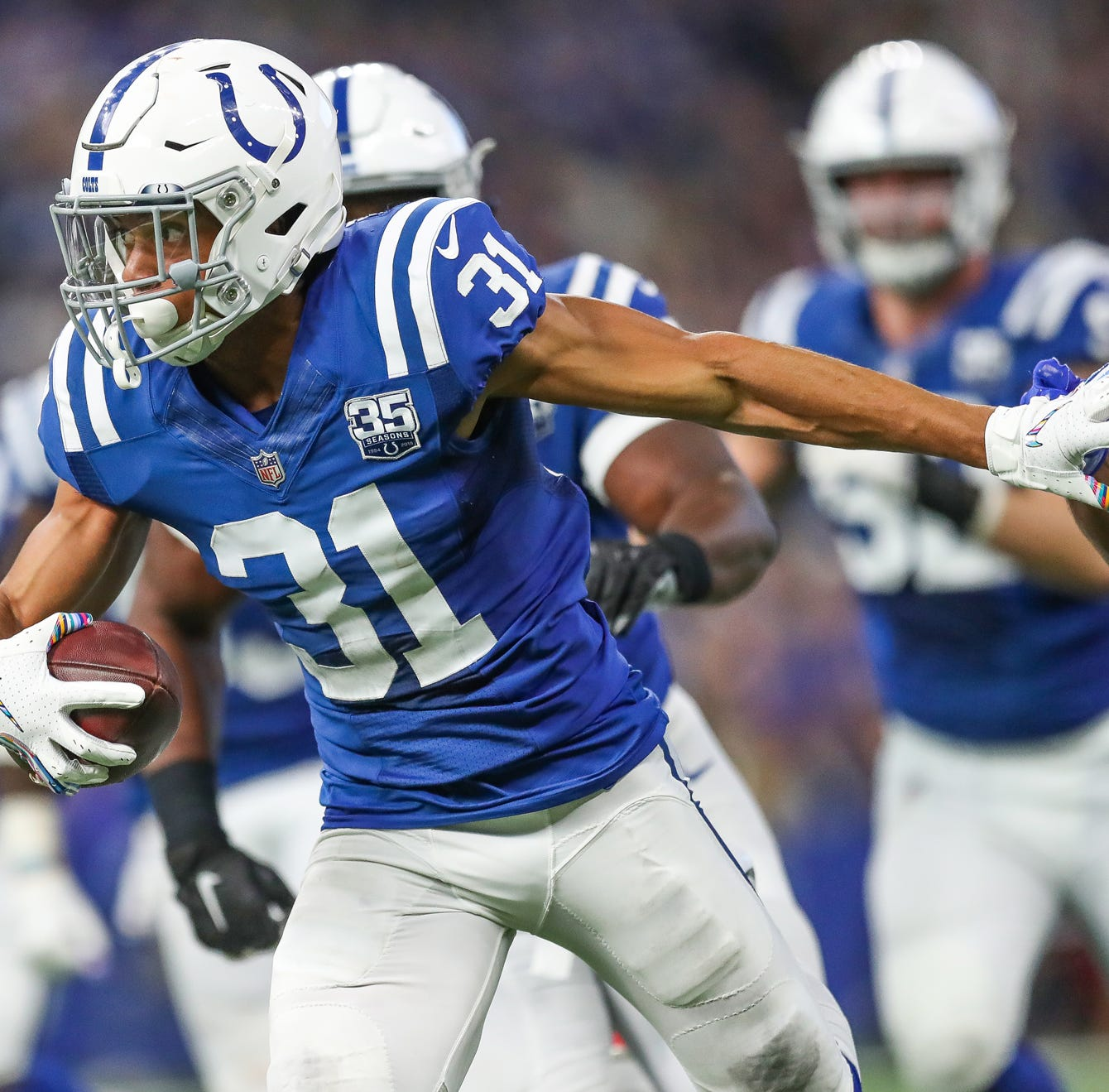 Colts' Quincy Wilson: 'Mike Mitchell saved my season'