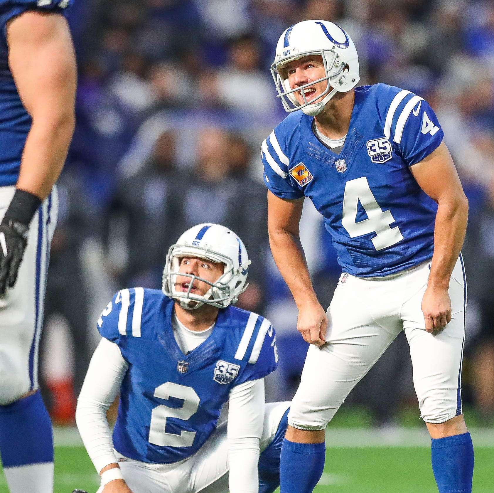 Colts' Adam Vinatieri: 'I'll be on the injury report tomorrow'
